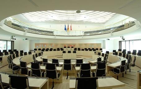 Plenarsaal des Hessischen Landtags - Foto: H. Heibel